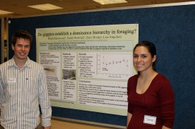 Boyd Hammond and Sarah Westrick present their poster at FRSES in 2012