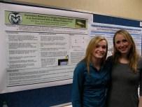 Erin Terrio and Sara Grossett present their work at FRSES 2013