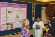 Lopez students presented their research at a local conference in 2012