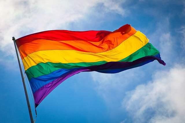 rainbow flag—photo by Benson Kua