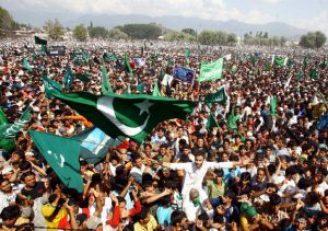 kashmir-protest-pakistan-flag