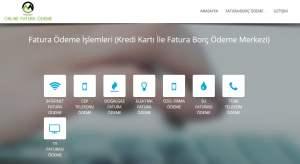 رابط تسديد الفواتير في تركيا