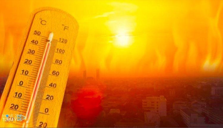 درجات الحرارة في تركيا