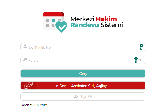 تسجيل عضو جديد في رابط حجز موعد في المشافي التركية