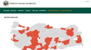 رابط النوتر في تركيا