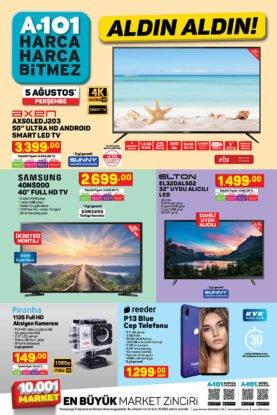 عروض ماركت يوزبير A101 على شاشات تلفاز وموبايل