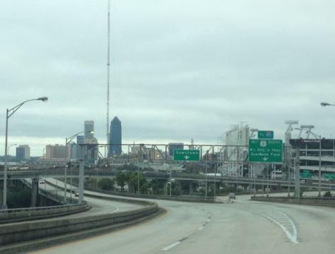 Driving around Jacksonville