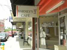 Barney's Cafe. Hum, don't recall that in the shows!