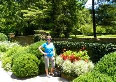 Beautiful garden, not so beautiful me....