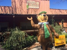 There's Yogi Bear!