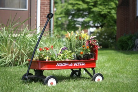 Radio Flyer Planter