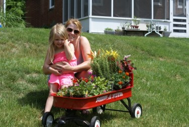 Radio Flyer Plants with Nance and Jane