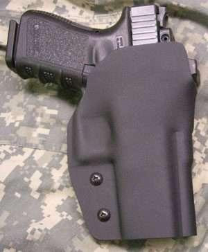 Michael Holster, RH, Black, Glock 29/30 w/RMR, 1.75