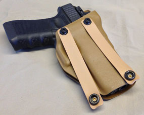 Seraphim - RMR Appendix Carry Holster Inside Waist Band (IWB)