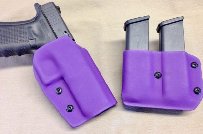 Gideon Elite Outside Waist Band (OWB) Holster and Double Mag Pouch