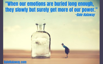 Do you bury your emotions?