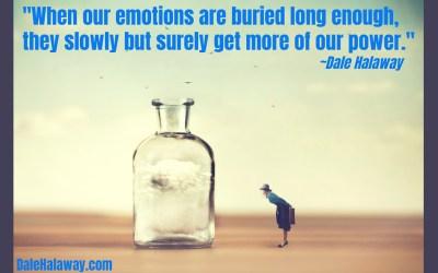 Do you bury your emotions?