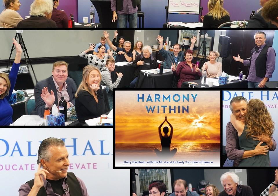 Harmony Within Workshop