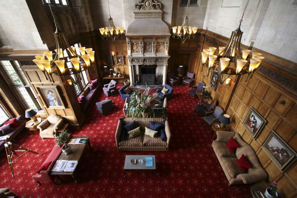 cathedral room bovey castle