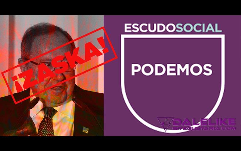 Fuerte y claro respondió Podemos al Presidente de la Cámara de Comercio Luis Bonet