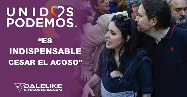 Podemos ratifica la necesidad de luchar contra el acoso a Iglesias y Montero antes que se normalice esta práctica