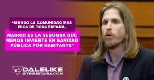 Madrid la comunidad más rica y que menos invierte en servicios sociales para sus habitantes