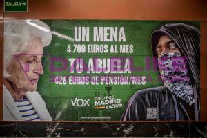 Discurso de odio contra menores de edad: Estas fueron las reacciones de la campaña xenófoba que VOX  desplegó en Madrid (+FOTOS)