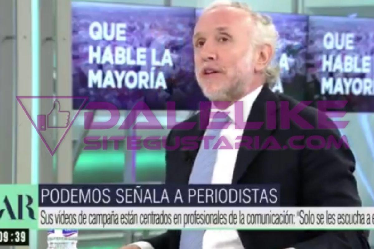INSÓLITO   Estas fueron las acusaciones de Eduardo Inda que Pablo Iglesias llevará ante la justicia (+VIDEO)