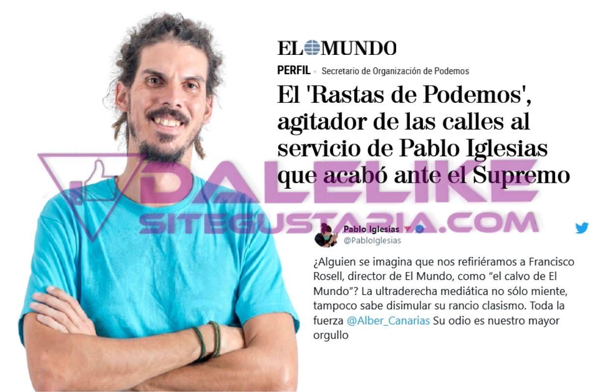Del «Rastas» a «El calvo»: Así humilló Iglesias al director del diario El Mundo (+FOTOS)