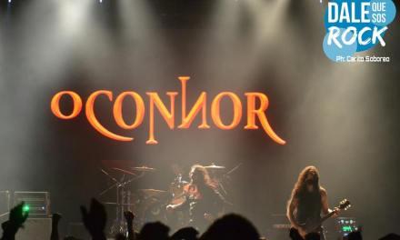 O´ Connor, un artista que tiene el metal en su voz