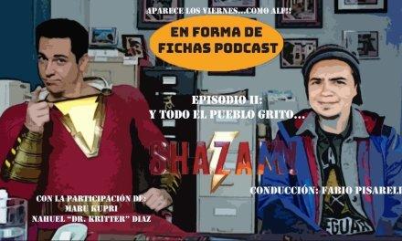 En forma de fichas: Shazam