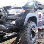 Toyota Tacoma In For New Wheels Tires And An Alignment Dales Alignment And Brake 604 530 9160 Suspension And Brake Service
