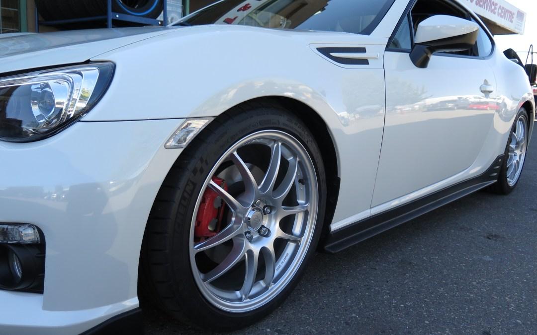 Bob's 2015 Subaru BRZ Aozora Edition gets some Bilstein, AVO, AFE… luv at dales!!!!