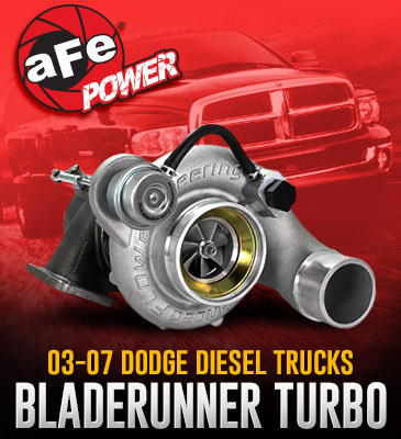 aFe Power BladeRunner Street Series Turbocharger 2003-2007 Dodge Diesel Trucks