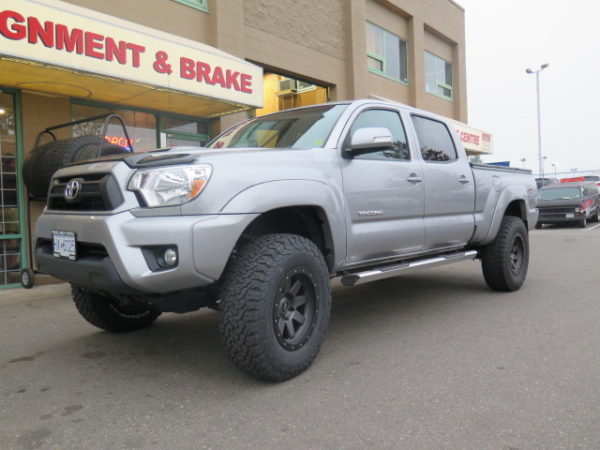 14+ Tacoma gets new Icon Stage 7 Suspension kit at Dales Auto