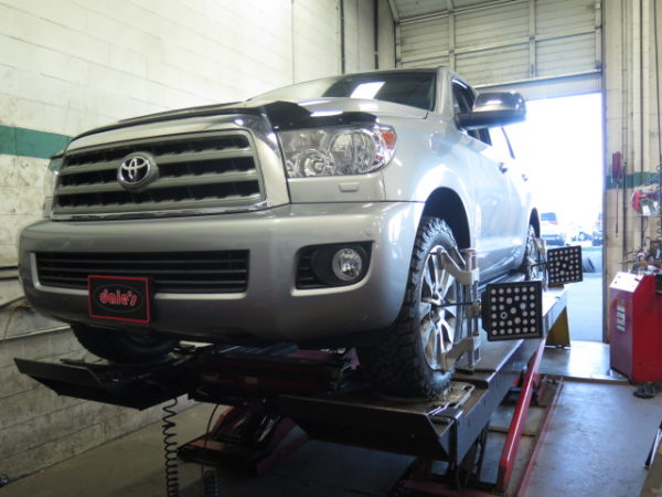 13 toyota sequoia gets new bfg at ko2 and rear airbags at dales auto lift kits suspension lift kits off road suspension kits leveling kits publicscrutiny Image collections