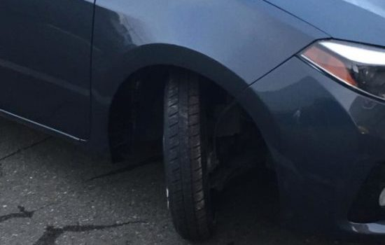 Hit a Curb? no worries Dales Auto Service will take care of you.