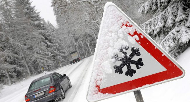 Please Drive Safe during Winter Road Conditions