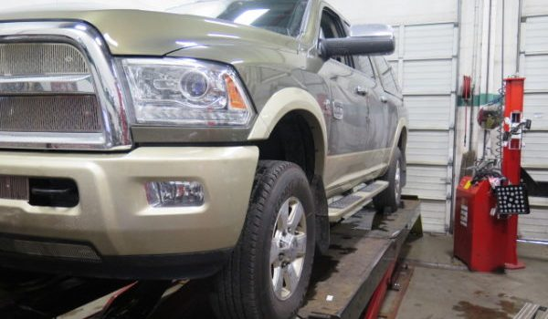 2016 Ram 3500 TRUXXX Level off kit and Biltein 5100 at Dales Auto Service