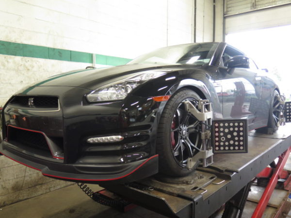 Nissan Skyline R35 in for an Alignment Set-up