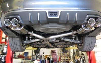 Dales Auto Service- COBB Exhaust for a Late Model STi