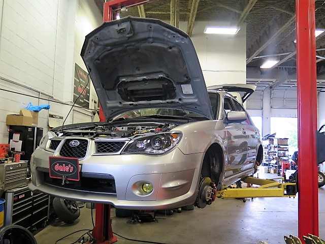 WRX ST Coilovers at Dales Auto (7)
