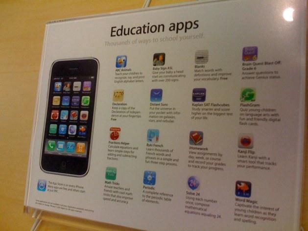 imagen de apps educativas para iPhone