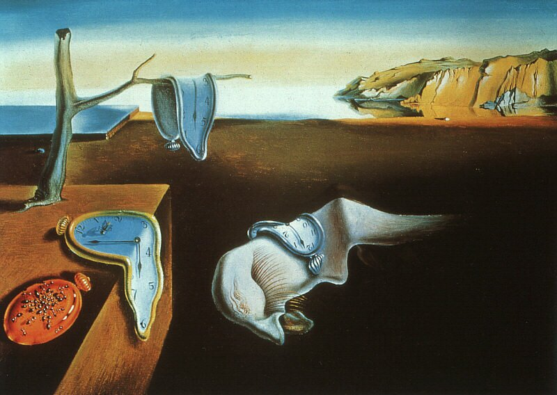 Persistence of memory (1931)