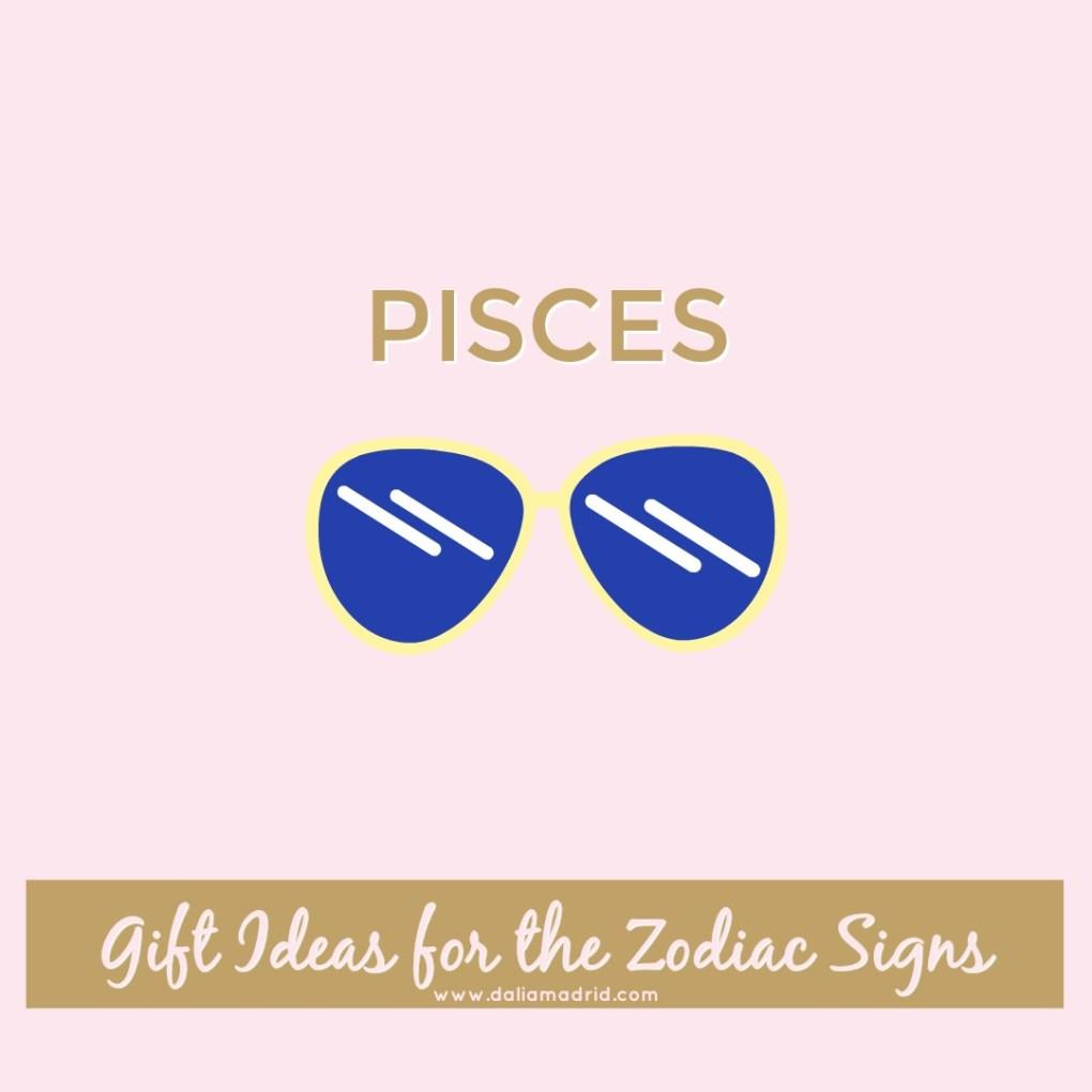 Gift idea for Pisces: Designer Sunglasses