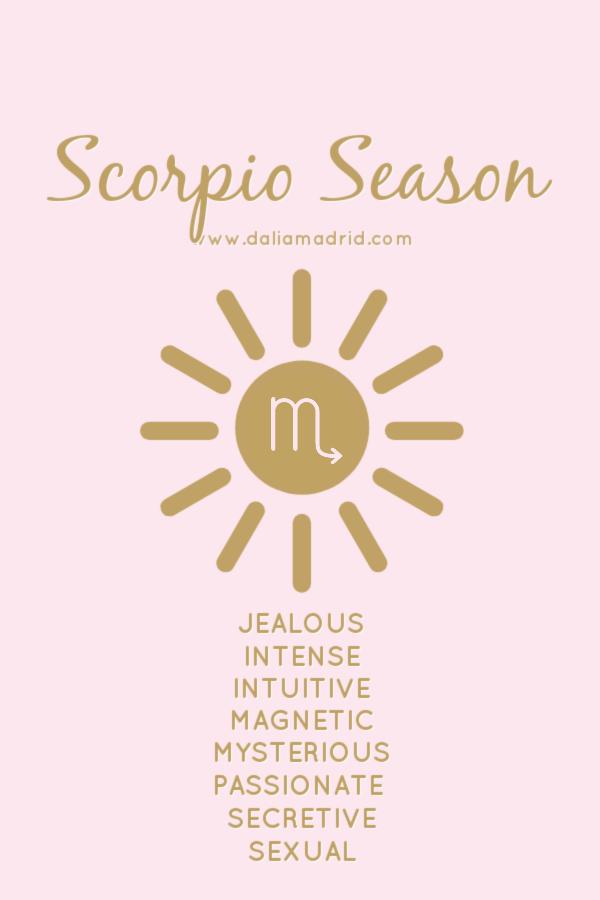 Sun in Scorpio - Scorpio Season
