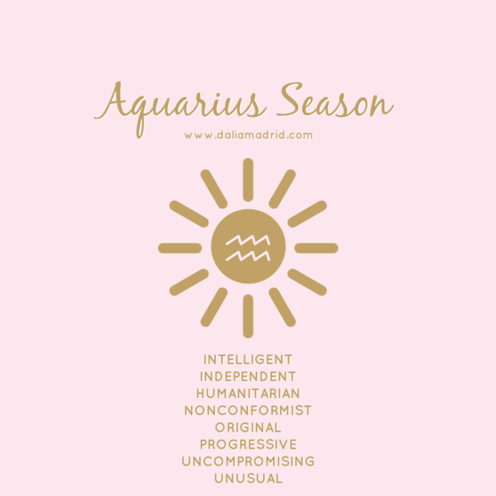 Sun in Aquarius