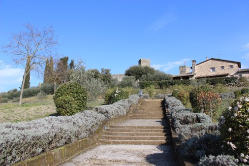 Up to Monteriggioni's walls!