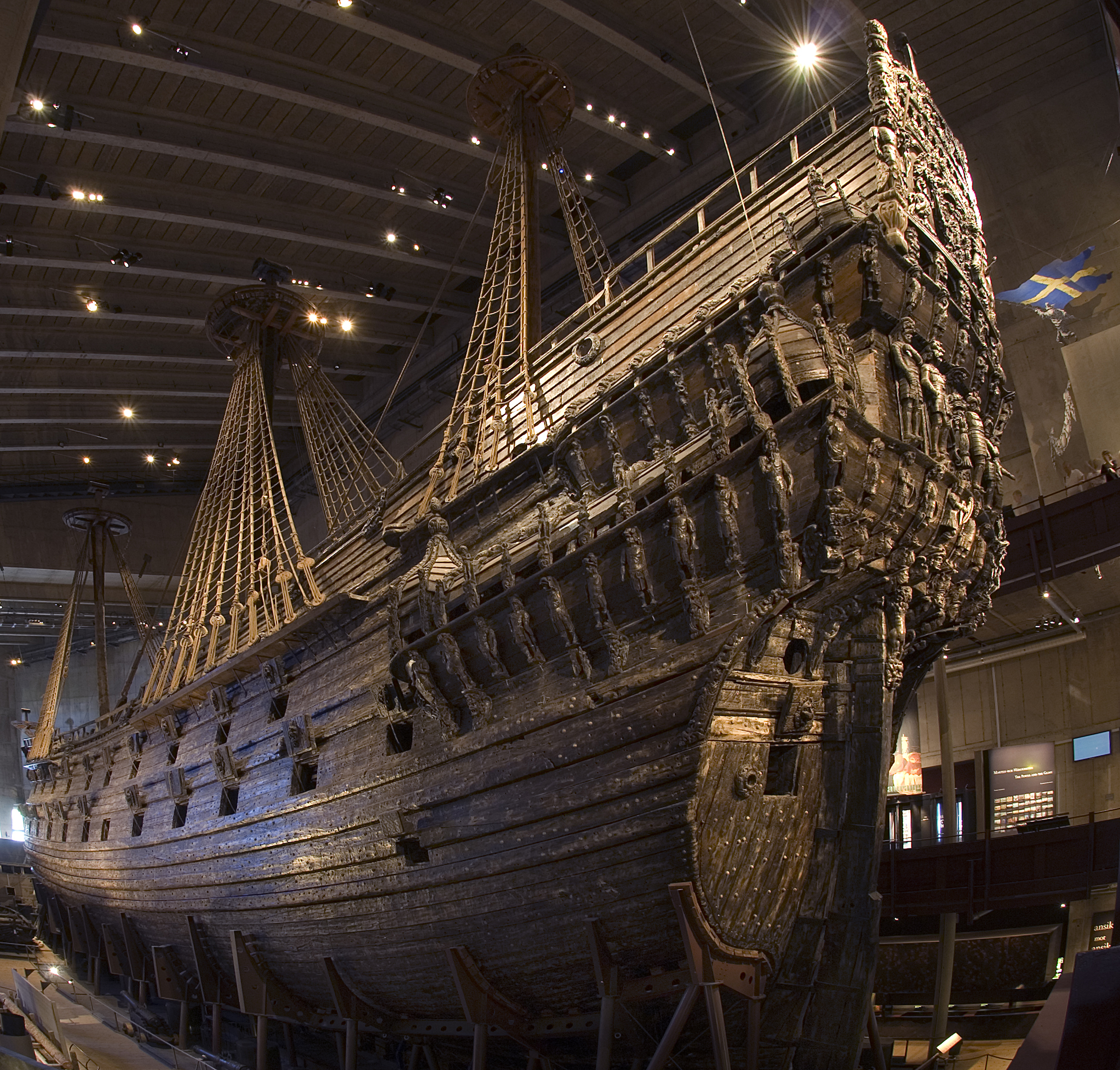 The 400-year-old warship in Stockholm