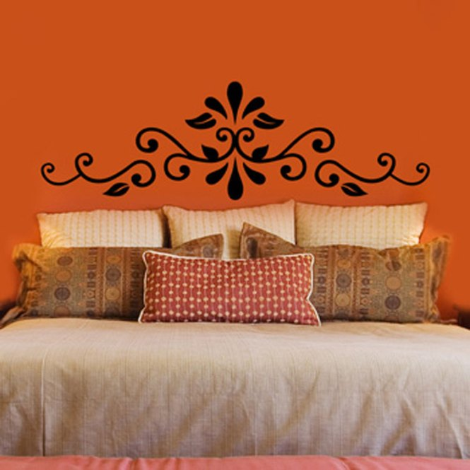 New Hot Modern Fashion Headboard Bedroom Art Vinyl Wall Sticker Decal Decor Quote Lettering